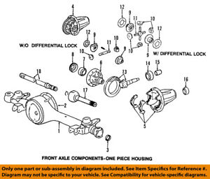 toyota oem front axle seals 9031035010 ebay rh ebay com 1985 4Runner Front Axle Assembly Diagram 85 toyota front axle diagram