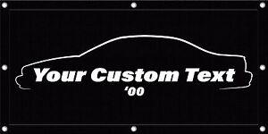 CUSTOMIZABLE 4'x2' 94 95 96 Gen 7 Impala Garage Banner Sign - Caprice Muscle Car