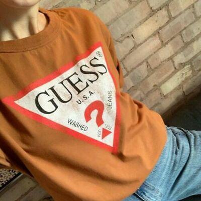 Guess Classic Oversized  Logo Women/'s T-shirt