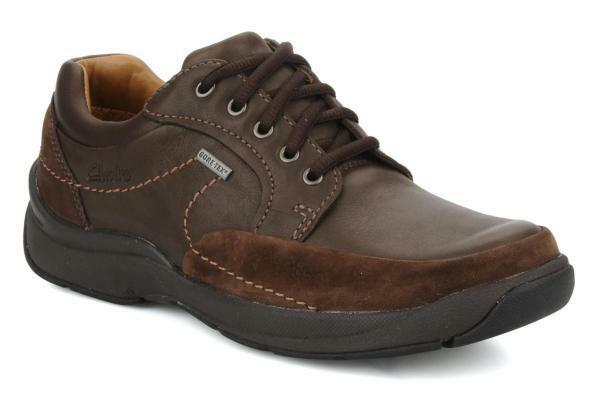 Clarks Mens ** STREAM JET Brown Gtx ** WATERPROOF , , ,  Wide - Fit ** UK 10.5 H d772e5