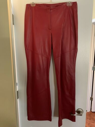 Wilson Leather Red Pants, Size 14