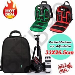 Waterproof-Shockproof-SLR-DSLR-Camera-Bag-Case-Backpack-For-Canon-Sony-Nikon-XJB