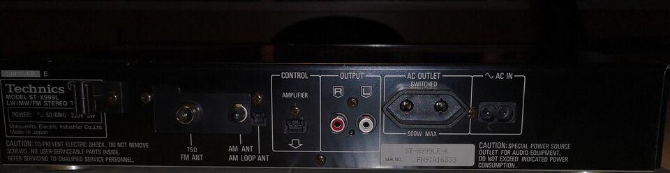 Radio/Tuner, Technics ST-X999L