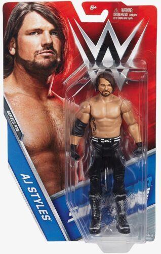 WWE AJ Styles Basic Series 73 Smackdown Live MATTEL WRESTLING ACTION FIGURE NEW