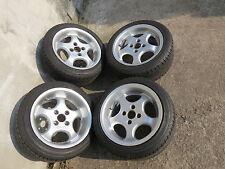 Alufelgen Steffan Cup BCW  4x100  7x14  8x14 VW Lupo Polo Seat Arosa 195/45 R14