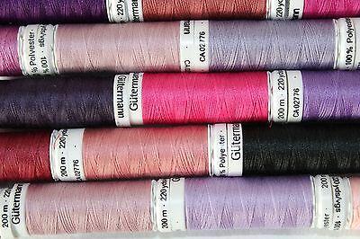155 Tangerine Gutermann Sew All Thread