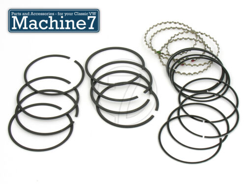 1776cc 2110cc 1.5 x 2 x 4 90.5mm Classic VW Beetle Oil Piston Ring Set