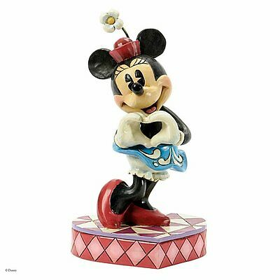 Disney Traditions Minnie Mouse Figurine 'I Heart You' : Jim Shore - Disney Gifts