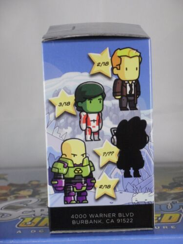 """Scribblenauts Unmasked Series 4 unopened Blind Box DC 2014 2.5/"""" inch"""