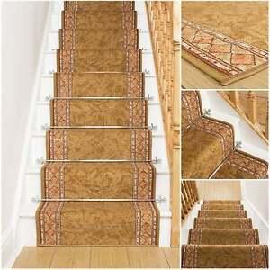 Image Is Loading Cheops Sand Stair Carpet Runner For Narrow Staircase