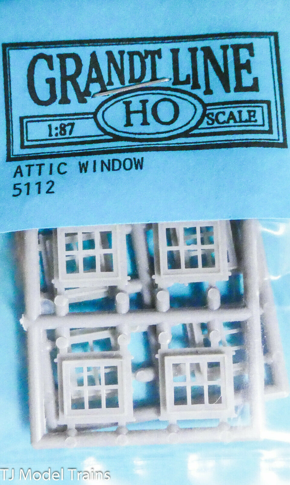Grandt Line S Scale 12 Pane Window 4028 Plastic Parts