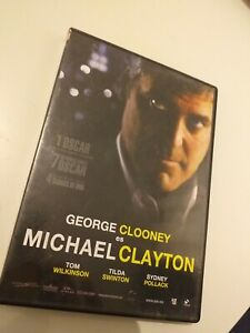 Dvd-MICHAEL-CLAYTON-CON-GEORGE-CLOONEY