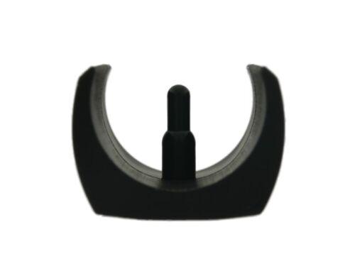 Klemmschalengleiter PE Ø 32-35 mm schwarz Zapfen Schalengleiter Freischwinger