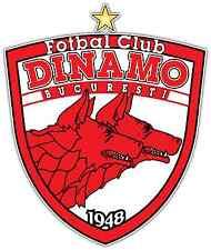 "FC Dinamo Bucuresti Romania Football Soccer Car Bumper Sticker Decal 4""X5"""