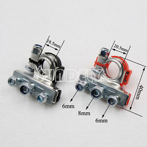 uk 3way positive negative battery terminals connectors clamps car rh ebay co uk Vehicle Wiring Connectors Auto Wiring Connector Kits