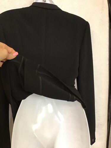 avec Rag texturé col Blazer taille un Black Veste 4 Lorimer crochet Nwt Bone à 8gqUxwS
