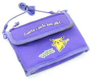 Pokemon Purple GameBoy Carrying Case