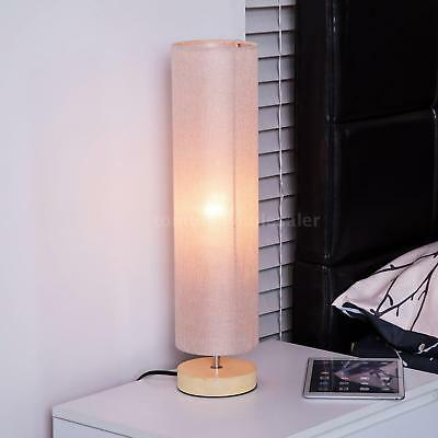 Wooden Table Lamp Living Room Light Small Home Lighting Bedroom