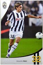 Cartoncino Juventus Stagione 2011/12 - Alessandro Matri