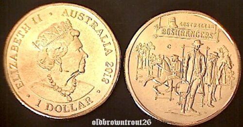 2019 $1 Australia/'s Wild Colonial Bushrangers /'C/' Canberra Mintmark Coin