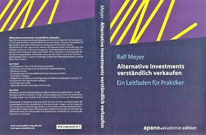 Hörbuch Alternative Investments verständlich verkaufen von Ralf Meyer