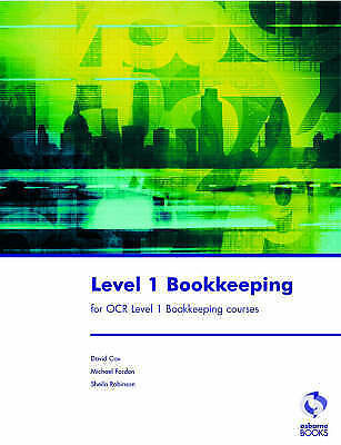 """""""AS NEW"""" Level 1 Bookkeeping for OCR Level 1 Bookkeeping Courses, Robinson, Shei"""