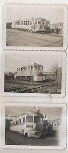 Lot-of-3-LVT-LEHIGH-VALLEY-TRANSIT-Trolleys-ALLENTOWN-PA-Pennsylvania-Photograph