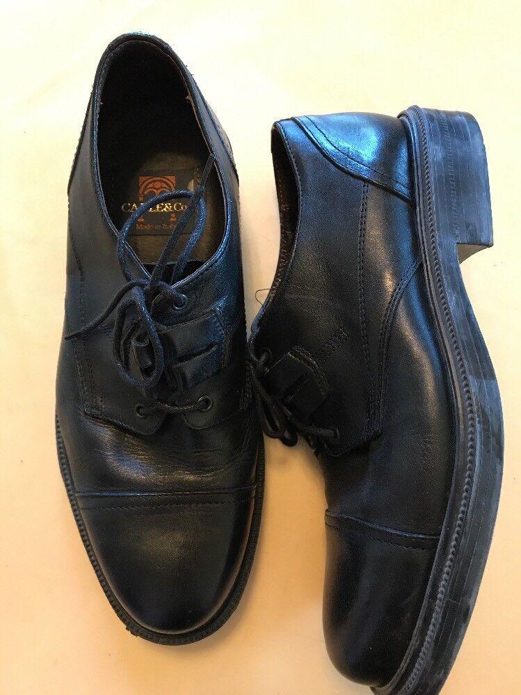 Cable & Co Mens Dress shoes Size 7.5 7 1 2 Black