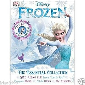 Image Is Loading Disney Frozen Reading Book Cd Amp Stickers 034