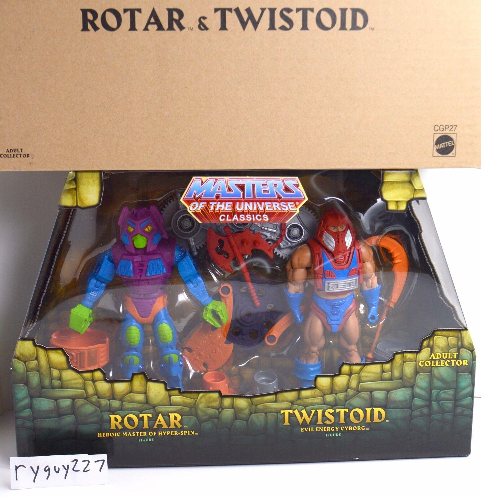 MOTUC, Twistoid & redar, Masters of the Universe Classics, sealed box MISB