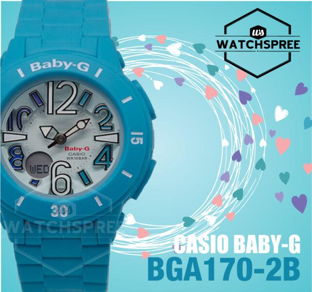 Casio Baby-G Cool, Casual Colors Neon Illuminator BGA170-2B