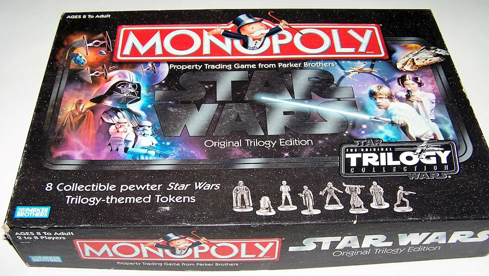 2004 Star Wars Monopoly: Classic Trilogy Edition by Parker Brothers