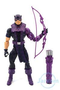 Marvel-Legends-6-034-Inch-Allfather-Odin-BAF-Avengers-Hawkeye-Loose-Complete