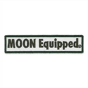 "MOON EQUIPMENT PATCH  4-3/8"" x 1  MOONEYES"