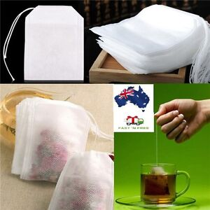 Empty tea bag Heat sealing filter paper clean Loose bag String Teabag Herb