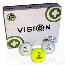 "ProSoft 808 ""TestTheVision"" Golfbälle - Set 12St. Golfball Fitting,Golfgeschenk"