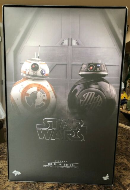 HOT TOYS Star Wars BB-8 & BB-9E 1/6 scale MMS442 903190 new