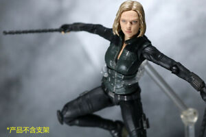 S.H.Figuarts SHF Avengers Infinity War Black Widow Action Figure New 15cm