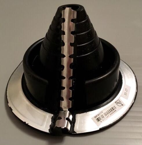 Dektite Retrofit Repair flashing for metal roofs 20-70mm Pipe//Flues Black Rubber