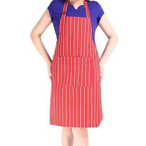 Unisex-Bib-Apron-Restaurant-Commercial-Kitchen-Bib-Apron-Waist-Apron-w-Pocket-S