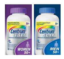 Centrum Silver COMBO PACK !!!  1x Women 50+ 250 ct + 1x Centrum Men 50+ 250 ct