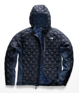 ba57c4403 Details about The North Face Men's IMPENDOR THERMOBALL HYBRID HOODIE  Insulated Jacket Navy M