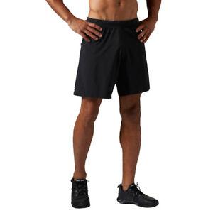 cfe32cd13ff0 Reebok Super Nasty Speed Men s Sports Training Shorts Black ...