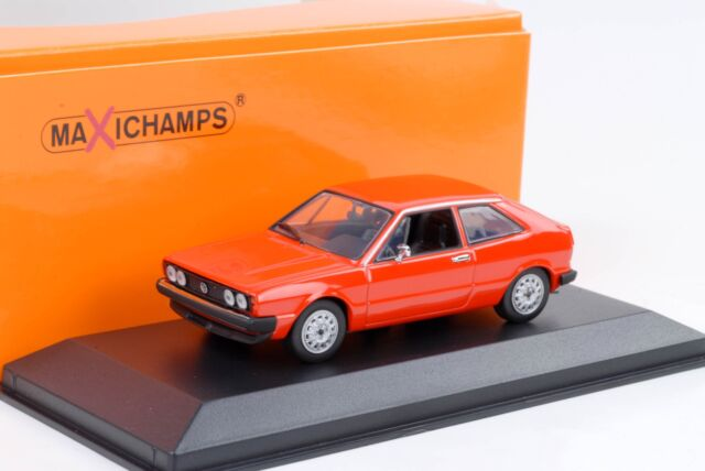 1974 VW Volkswagen Scirocco I Red 1:43 maxichamps//Minichamps