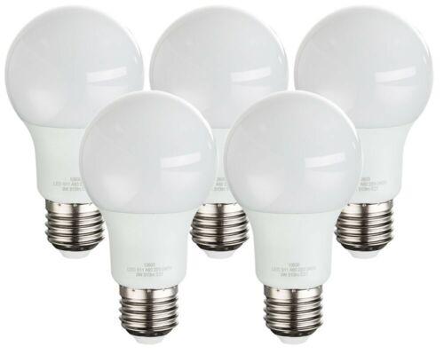 5er Set 9 Watt LED Leuchtmittel E27 Sockel warmweiß 810 Lumen 3000 Big Light