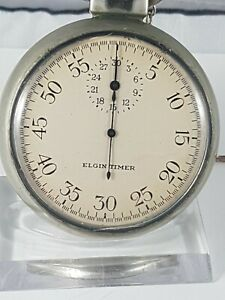 Elgin Timer, Rare Military Pocket Watch, working ,nice collector watch !