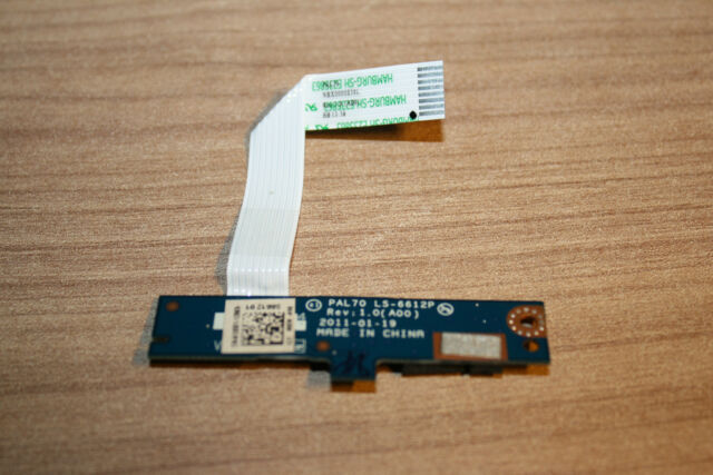 NEW Dell Latitude E6320 LED Board with Cable LS-6612P from European Union