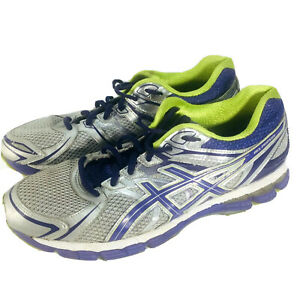 Details about Asics Gel-Pursue h Women Size 10 Lime Gray Purple Running Shoe Sneaker