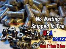 10 pcs 698ZZ 8mm X 19mm X 6mm Bearing In The USA 8x19x6 Get them faster from USA