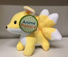 "6"" Cute Fox Plush Yellow 5 Tails"
